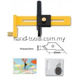 Olfa CMP-1 Compass Cutter (With 5 Blades) (1cm-15cm)