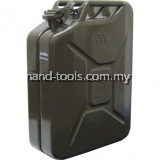 20LTR HEAVY DUTY STEEL JERRY CAN (GREEN)