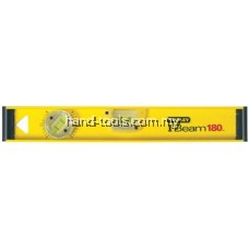 400mm I-Beam 180 Aluminium Spirit Level, 3 Vials