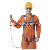 Full Body Harness Built-in lanyard & snap hook