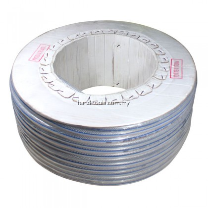 "38-PH810 10mm / 3/8"" HIGH QUALITY PVC BRAID HOSE  Length: 100M"