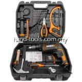 WORX WX317.3 13mm/600w 109pce kit Impact Drill