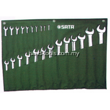 SATA 09027 Combination Wrench Set 23pc, 6mm-32mm, Metric, 7kg, 09027