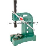 "Arbor Press 3 Ton Working height: 12-3/4"",Throat: 6-1/4"""