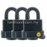 YALE Y220/51/118/3 WEATHER RESISTANT LAMINATED PADLOCK
