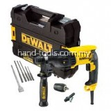 Dewalt D25133K 26mm SDS 3mode Rotary Hammer Drill No Load Speed:0-1500rpm