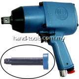 "TOKU Air Impact Wrench 3/4"", 40-80kg.m, Twin Hammer,MI-20PL"