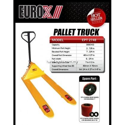 EUROX EPT-2748 3Ton Hand Pallet Truck