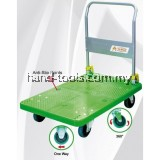 "TAHAN PVC PLATFORM FOLDABLE HAND TRUCK 1100MM (L) X 700MM (W) 450KG (MAX. LOAD) WITH 6"" NYLON CASTER WHEELS"