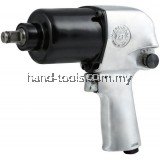 "KAWASAKI KPT-231 1/2""Air Impact Wrench (Japan)Bolt Capacity  16 mm  Sq.Drive  12.7 mm  Max Torque  570 Nm  Free Speed  6,300 min-1  Air Cons.  9.77 l/s  Overall Length-195mm(KPT-231)"