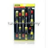 Stanley Cushion Grip Screwdriver Set 6pcs free Digital Test Pen