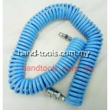 KH-6  Polyurethane PU Recoiling Air Hose with Coupler 6Meter
