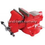 JETECH Heavy Duty Swivel Base Bench Vise