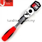 "Jetech RTS1/2"" 45-GEAR SOFTGRIP Heavy Duty Ratchet Wrench"
