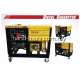 Tough 400V 15kVA Open Type Diesel Generator