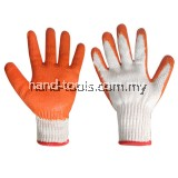 PVC DIPPED COTTON YARN GLOVE Slip resistance Soft and endurable(97-HG007)