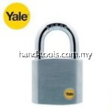 SATIN CHROME BORON SHACKLE PADLOCK 40MM