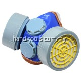 DOUBLE RESPIRATOR WITH CARTRIDGETo provide workers with respiratory protection from harsh environments(99-ECT220)