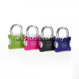 Yale YE3/25/112/1 Aluminum Chrome Plated Steel Shackle Padlock 25mm