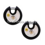 YALE Y130/70/116/2 2Pcs Key Alike Stainless Steel Disc Lock 70mm