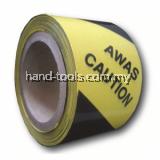 Warning tape 3″ (Black & Yellow)Width x length: 50mm x 33m