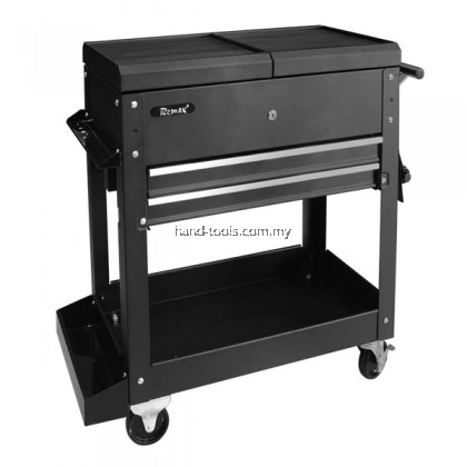 REMAX 2 DRAWERS TOOL CART W/ACCESSORY (77-HT310A)