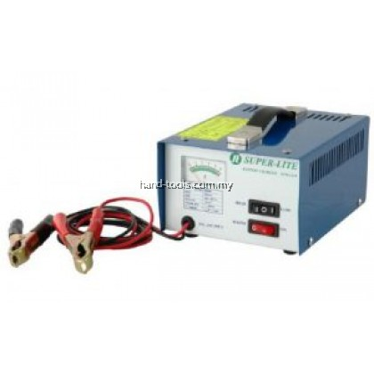 SUPER-LITE STM 1205 BATTERY CHARGER Charging Voltage( VDC ):12V Dimensions H x L x W:120X160X220
