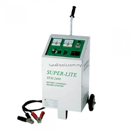 SUPER LITE STM-2460 Battery Charger / Engine Starter Input Voltage:220v ~ 240v (1 phase 50hz)