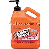 PERMATEX 25218 FAST ORANGE PUMICE HAND CLEANER GREASE CLEANER 1GALON