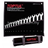 TOPTUL GPAB1404 COMBINATION WRENCH SET 8-24MM
