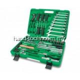 GCAI8002 80pcs 1/4″ & 1/2″ DR. Tool Kit Professional Grade
