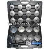 KING TOYO kt-1448A 23PCS ALUMINIUM OIL FILTER WRENCH SET KT-1448A