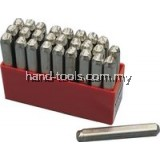kennedy ken5604100k 10.0mm (SET OF 27) LETTER PUNCHES