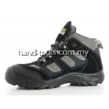 SAFETY JOGGER CLIMBER Safety Shoe Black/Grey Middle Cut