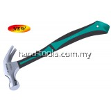 27MM CLAW HAMMER WITH CHROME FINISH HEAD TPR HANDLE(TPR-27MM)