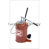 FG860M GEAR OIL DISPENSER WITH METER Wheel mounted tank of 22 litres equipped with a hand operated pump(FG860M)