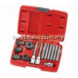 jtc4738 14PCS ALTERNATOR COMBINATION SOCKET SETS Special designed two-part socket for removing and replacing the free  wheel pulley when you want to replace the alternator or pulley
