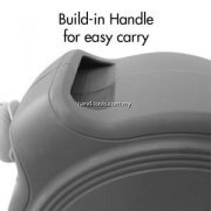 38-NW201 1/2″ x 20m PORTABLE PVC HOSE REEL (AUTO RETRACTABLE) Include PVC Hose