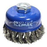 TWISTED KNOT BOWL CUP BRUSH 75XM10X1.5MM (33-NC075)