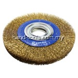 WIRE CIRCULAR BRUSH 200x25x32  For deburring, cleaning of paint, rust, dirt and scale(33-CB200)