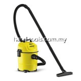 Karcher WD1 Wet and Dry Vacuum Cleaner (1000W/15L)