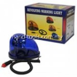 REVOLVING WARNING LIGHT-12V-COLOUR:BLUE