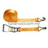 Ratchet Tie Down Lashing Strap w/ 5 Ton Breaking Strength 2˝x9 Meters Car Lorry Truck Towing Strap