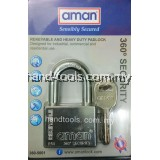 AMAN 2681 360º SECURITY REKEYABLE AND HEAVY DUTY PADLOCK