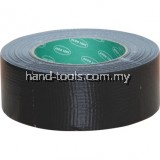 avn9813260k 50mmx50M BLACK CLOTH TAPE  Seals from air and completely waterproof - unaffected by humidity. Made from a lamination of polythene film cotton cloth and extremely strong rubber resin adhesive