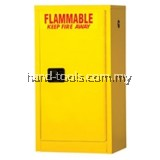 4 gal Flammable Storage Cabinets 22 x 17 x 17 (in.)Doors: 1 manual  No. of shelves/Trays: 1(F101)