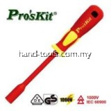 ProsKit SD-800-M9 VDE 1000V Insulated Nut Driver (M9x125)
