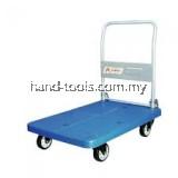 150kg Heavy Duty PVC Platform Trolley-Hand Truck pvc150