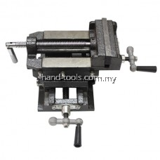 "4""/100MM TWO WAY CROSS SLIDE VISE Use for a firm hold on your metal fabricating or woodworking"