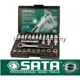 "sata 09131 25PC 1/4"" DR. VORTEX SOCKET SET"